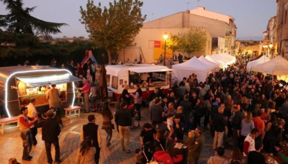 Imatge d'una anterior edició de la Fira de la Cervesa Artesana de l'Espluga.