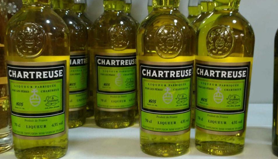 El Chartreuse groc costa 17,80 euros a Andorra.
