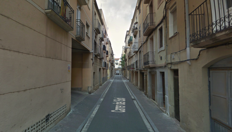 Imatge del carrer del Sol de Reus.