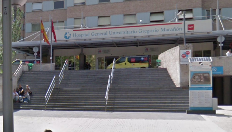 Imatge de l'Hospital Gregorio Marañón de Madrid.