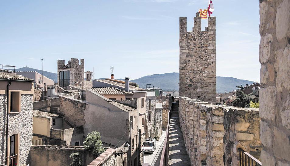 La muralla de Montblanc continuarà creixent.