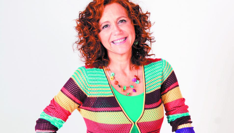 La cantant Dàmaris Gelabert.