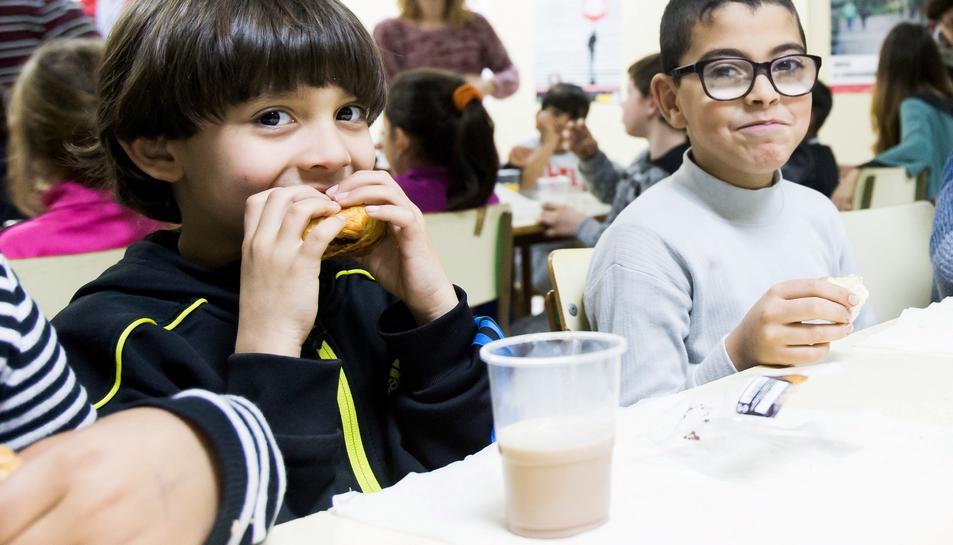 Gràcies a les donacions, 4.793 menors en risc de vulnerabilitat social a Tarragona podran accedir a aquest aliment d'aquí a final d'any.