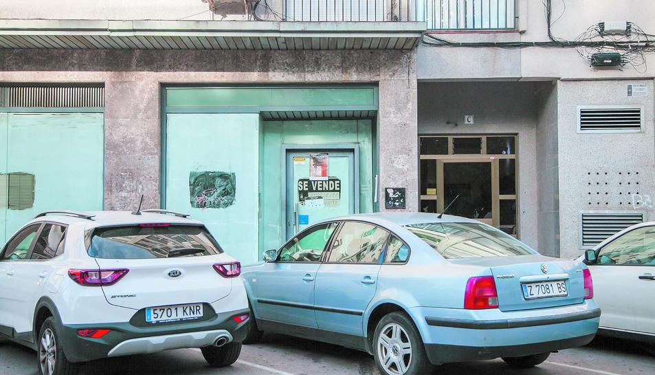 El local del bloc Sant Andreu de Sant Pere i Sant Pau que sí compleix les normes urbanístiques.