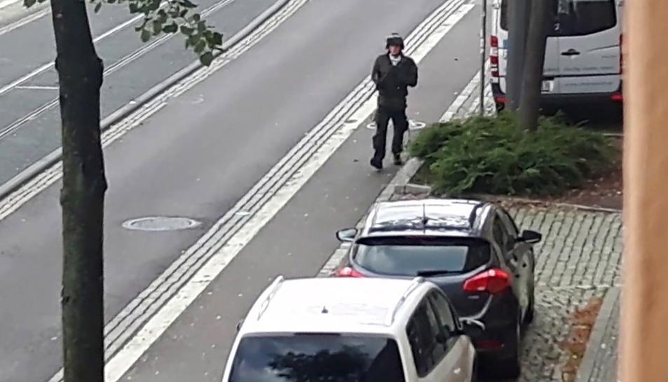 Imatge de l'autor de l'atac.