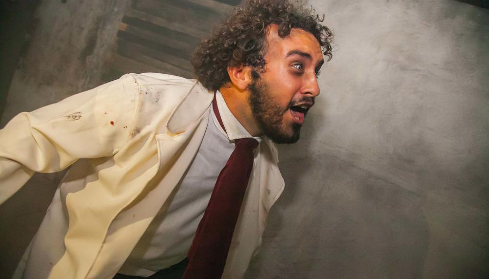 Imatges del passatge de terror al Parc Samà