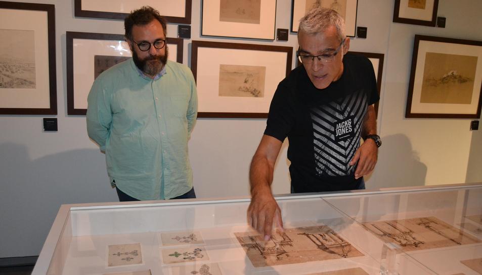 L'exposició compta amb unes 200 obres.
