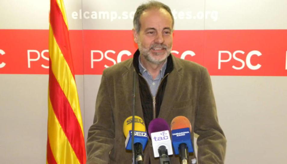 El diputat socialista per Tarragona, Joan Ruiz, en una imatge d'arxiu.