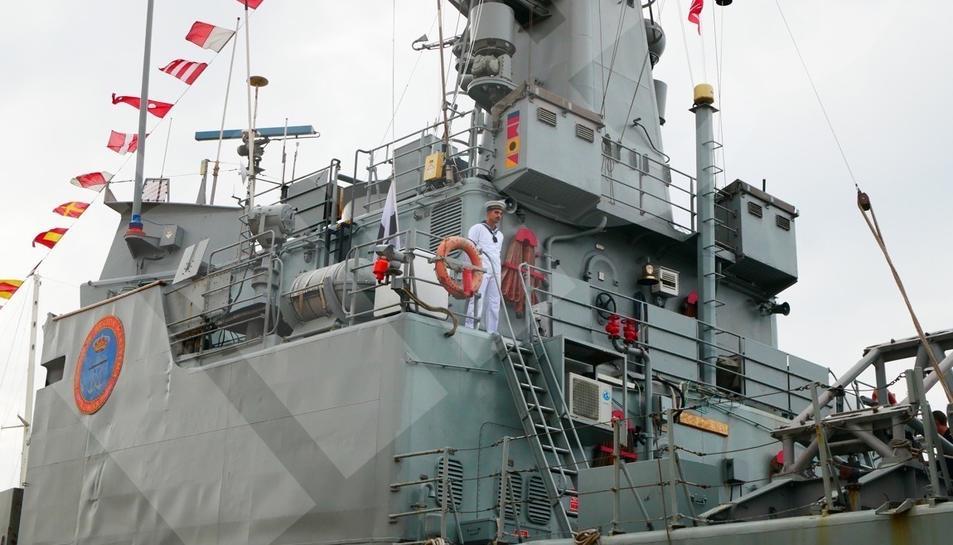 Portes obertes del patruller de l'Armada espanyola Infanta Cristina (II)