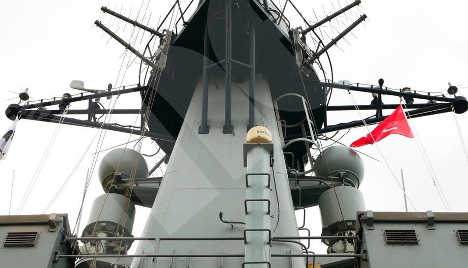 Portes obertes del patruller de l'Armada espanyola Infanta Cristina (I)