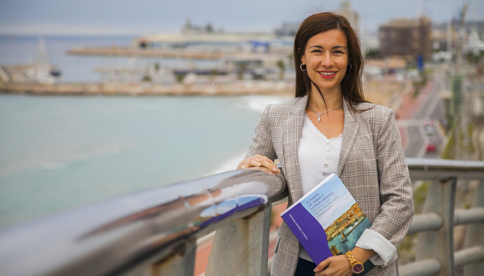 Patricia Terrado és doctora en Arqueologia Clàssica per la URV.