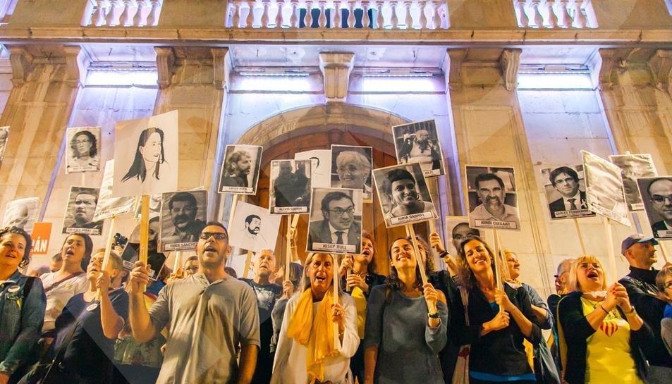 La manifestació a Tarragona (1)