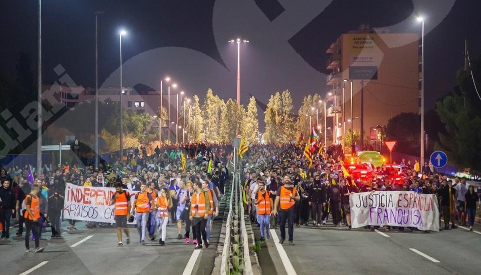 La manifestació a Tarragona (2)
