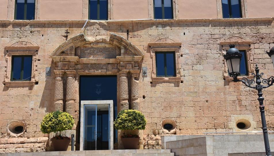 Imatge de la façana consistorial de Torredembarra.