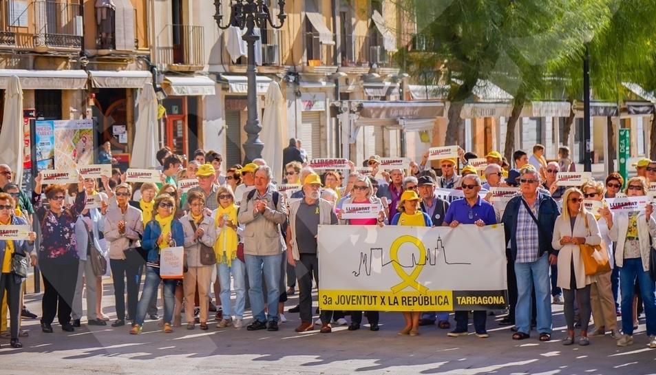 Segundo día de protestas en Tarragona (I)