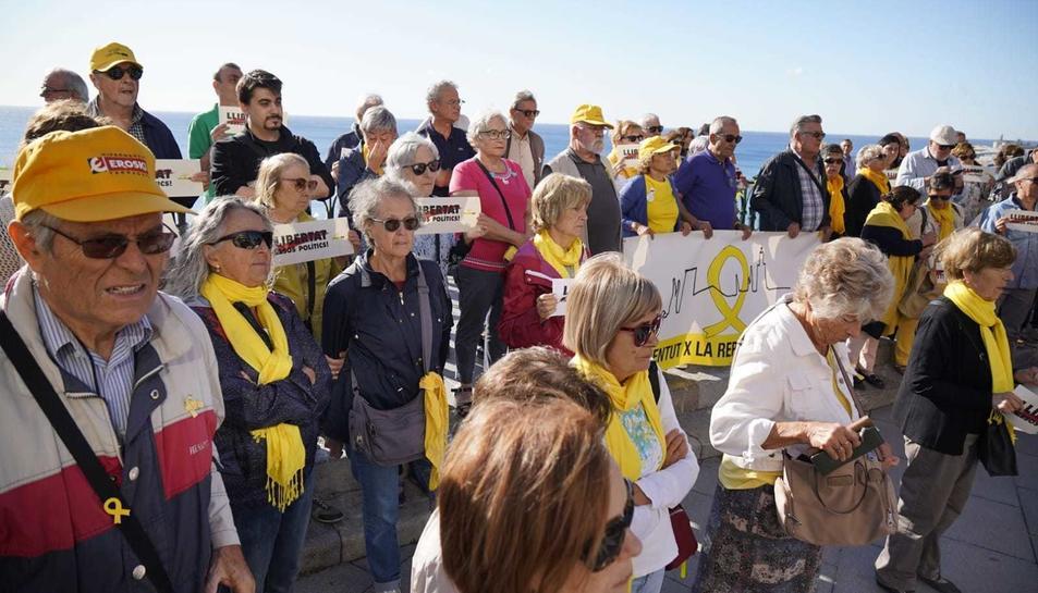Imatge de l'acte de l'ANC al Balcó del Mediterrani.