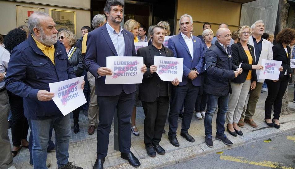 Imatge de l'acte fet a la delegació del Govern a Tarragona.