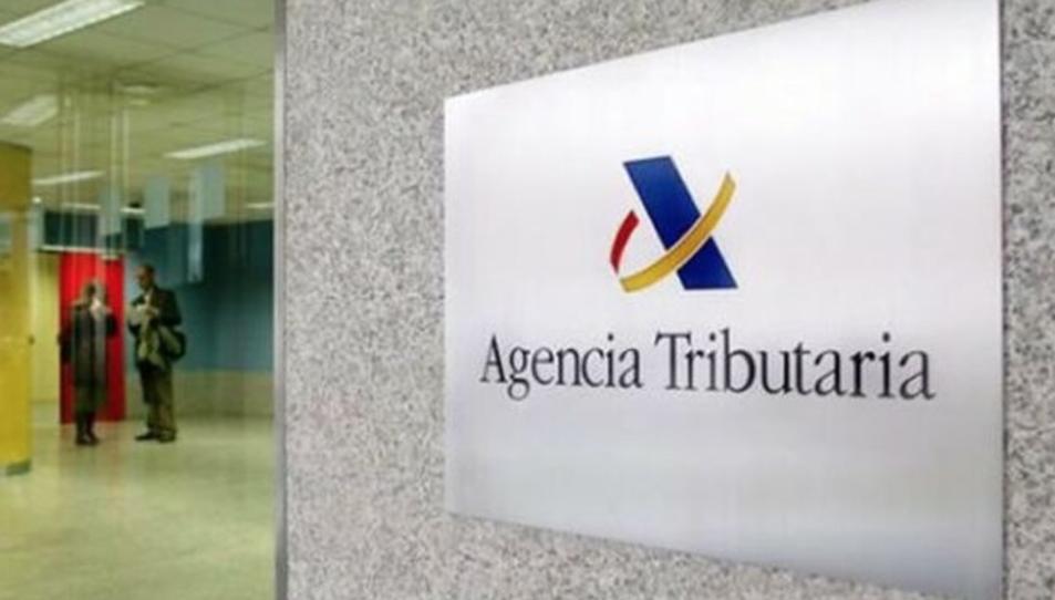 Imatge d'una oficina de la Agencia Tributaria.