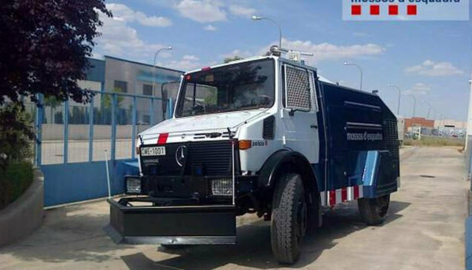 Imatge d'arxiu del camió d'aigua