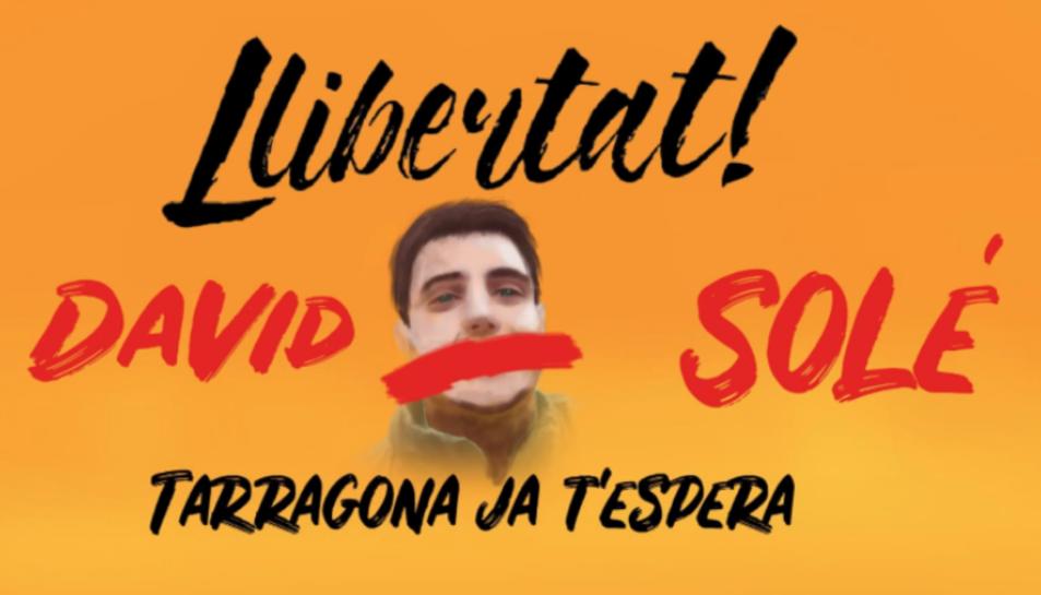 Campanya per exigir la llibertat de David Solé.