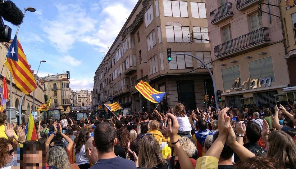Concentració a Tortosa.