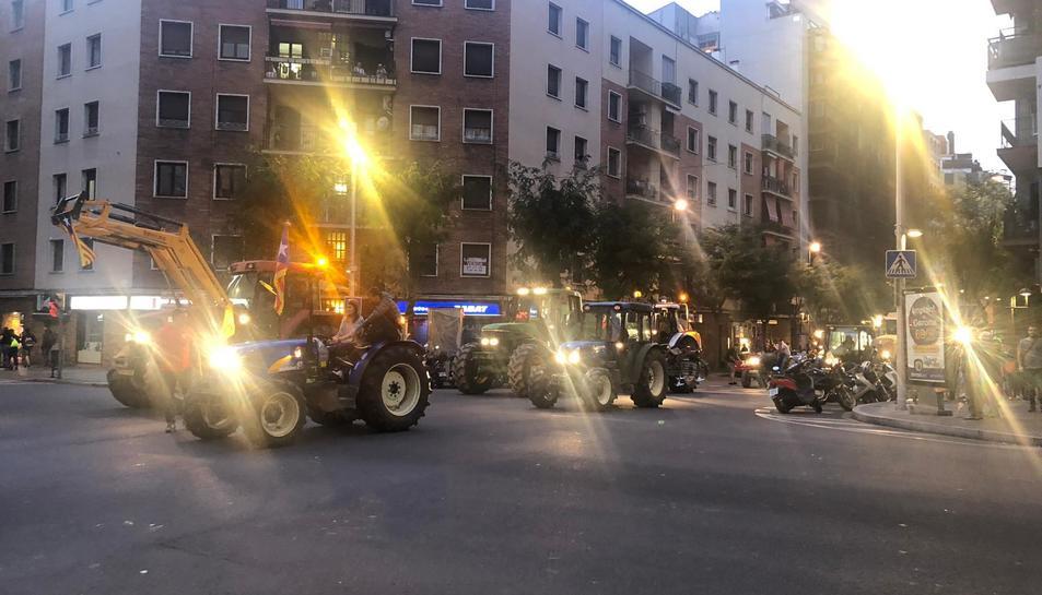 Tractors a Part de la Riba.
