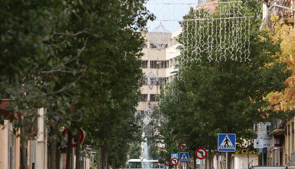 Al carrer Ample hi havia ahir els primers elements.