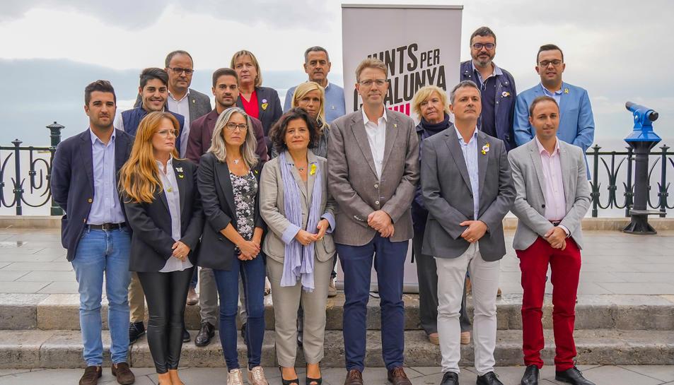 Presentació de la candidatura de Tarragona de Junts per Catalunya pel Congrés i el Senat.