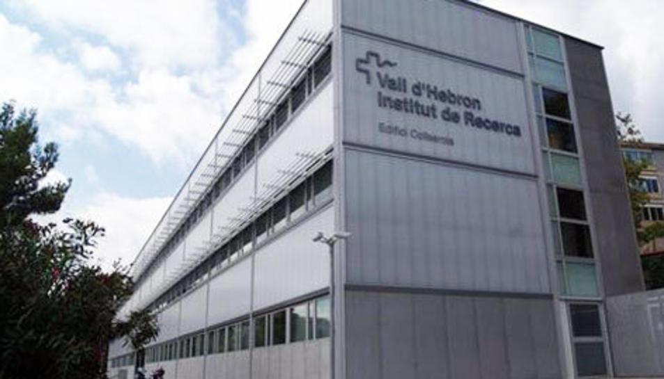Imatge del Vall d'Hebron Institut de Recerca (VHIR).