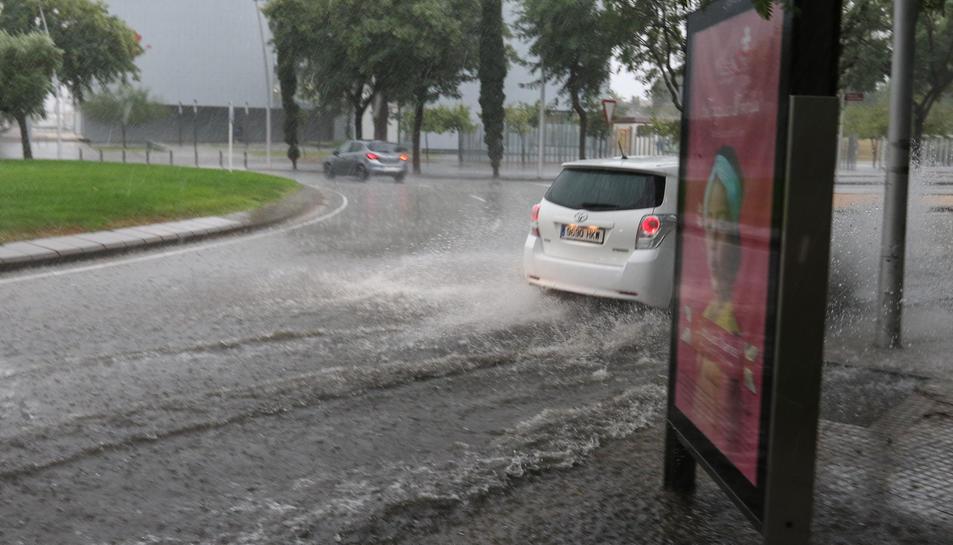 Els aiguats a Reus