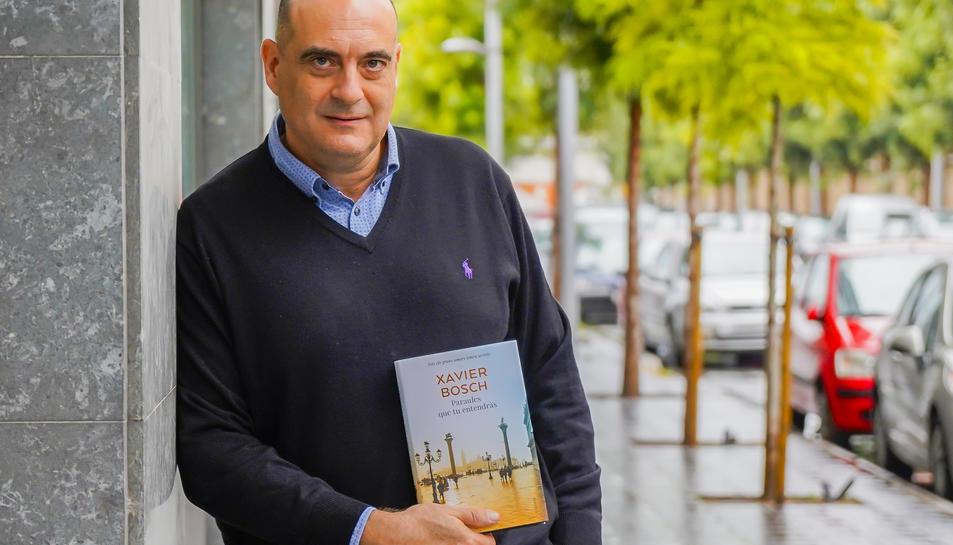 Xavier Bosch, aquest dimarts, a Tarragona.