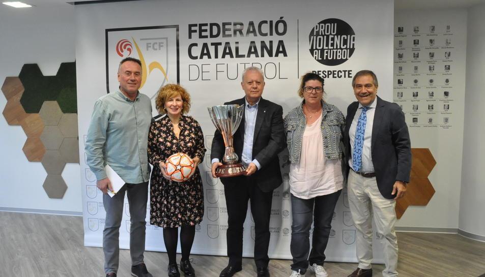 El sorteig es va desenvolupar aquest dimarts a la seu de l'FCF a Barcelona.