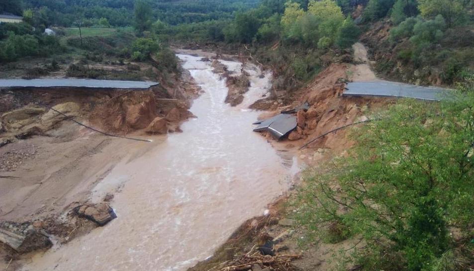 El Camp de Tarragona després del temporal