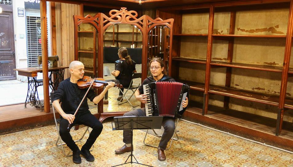 El Garbuix Duet interpretarà peces del modernisme.