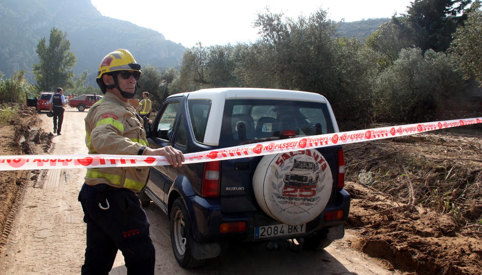 Pugen a 4 les víctimes mortals dels aiguats després de confirmar-se la mort del veí de Vilaverd desaparegut