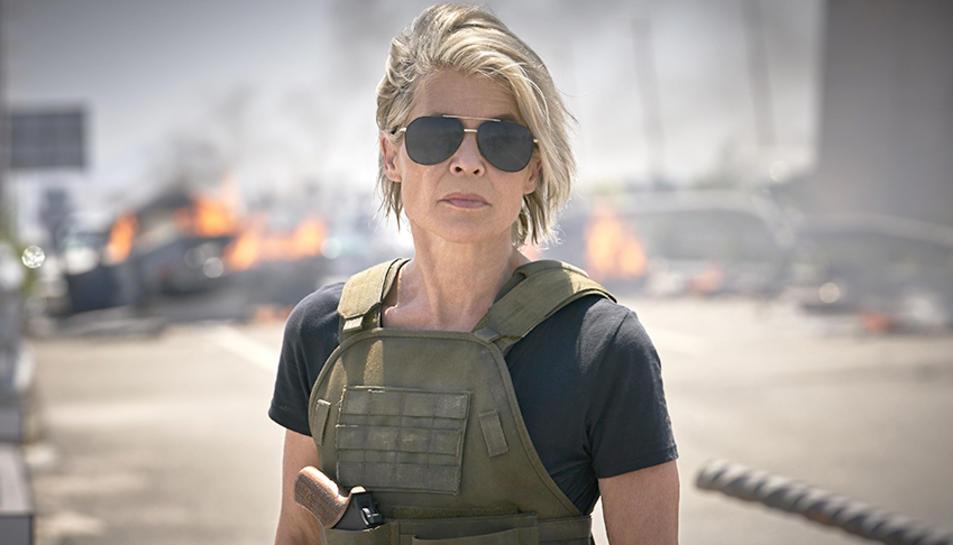 Linda Hamilton a 'Terminator: Destino Oscuro'