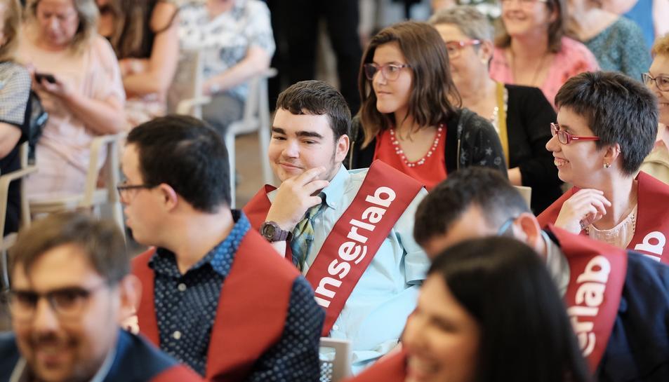Imatge de la graduació dels alumnes del curs passat