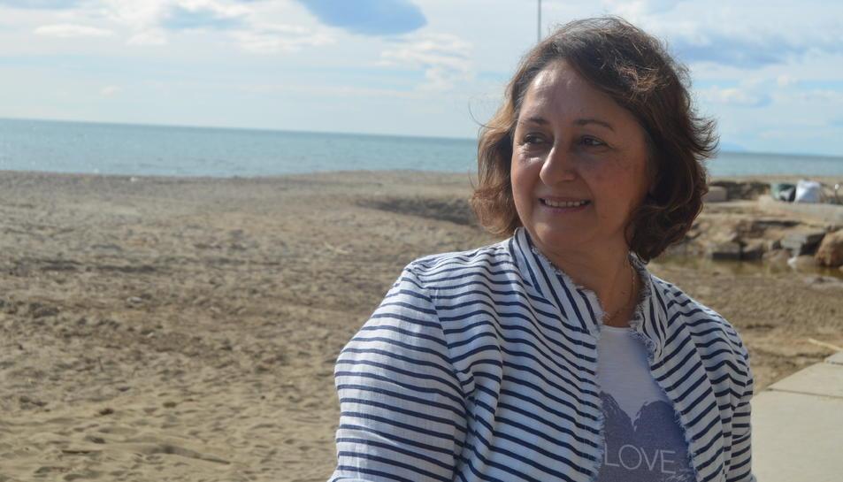 Galia Nikolova el passat dijous a Salou.