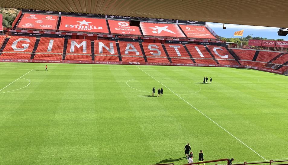 El Nou Estadi abans del Nàstic-Espanyol B