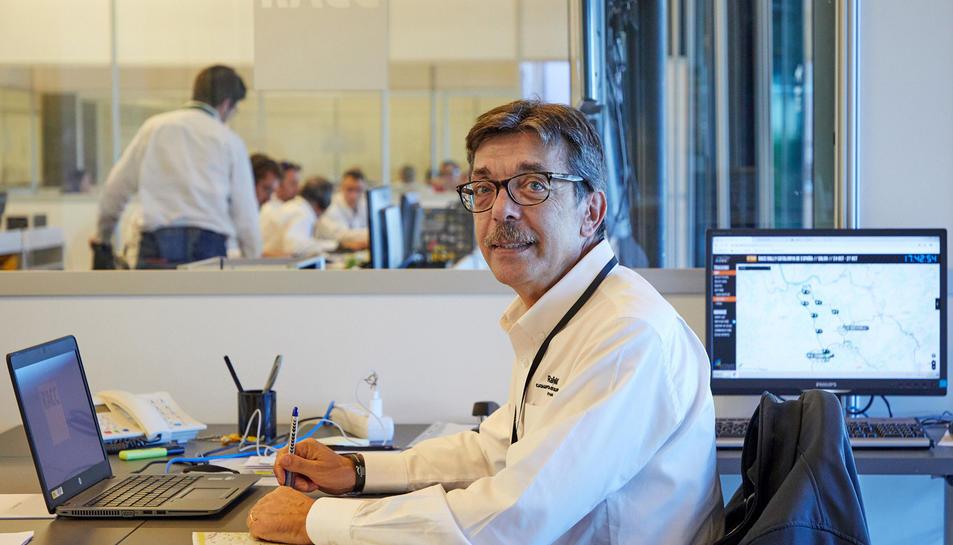 Aman Barfull, director del 55è Ral·liRACC Catalunya-Costa Daurada.