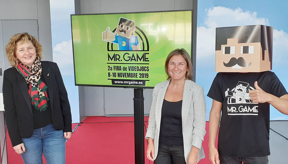 Imatge de la presentació de Mr Game