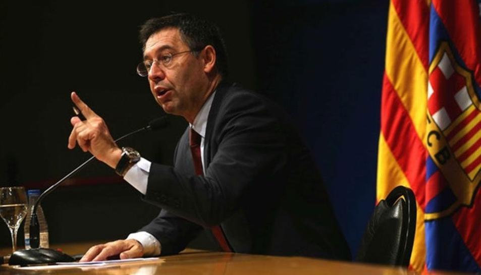 El president del FC Barcelona, Josep Maria Bartomeu.