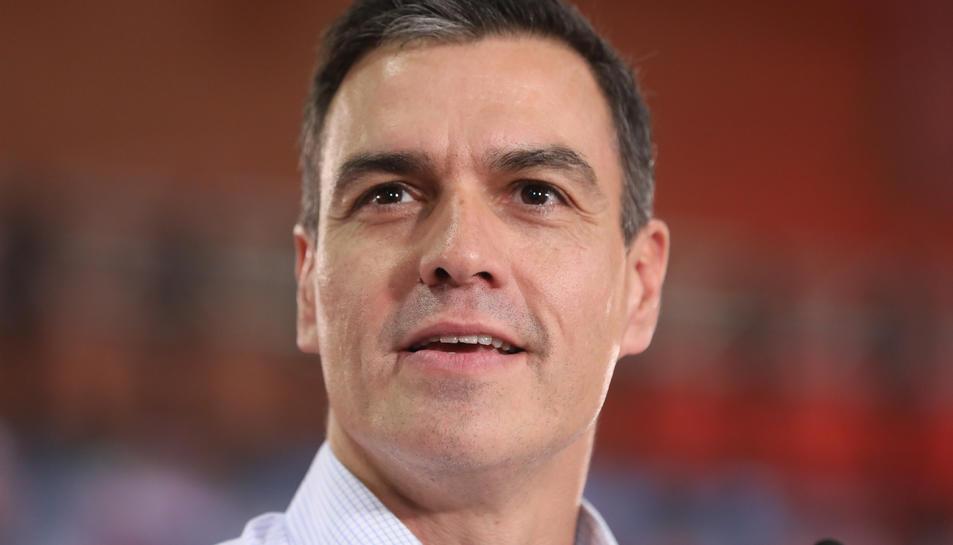 El lider del PSOE, Pedro Sánchez.