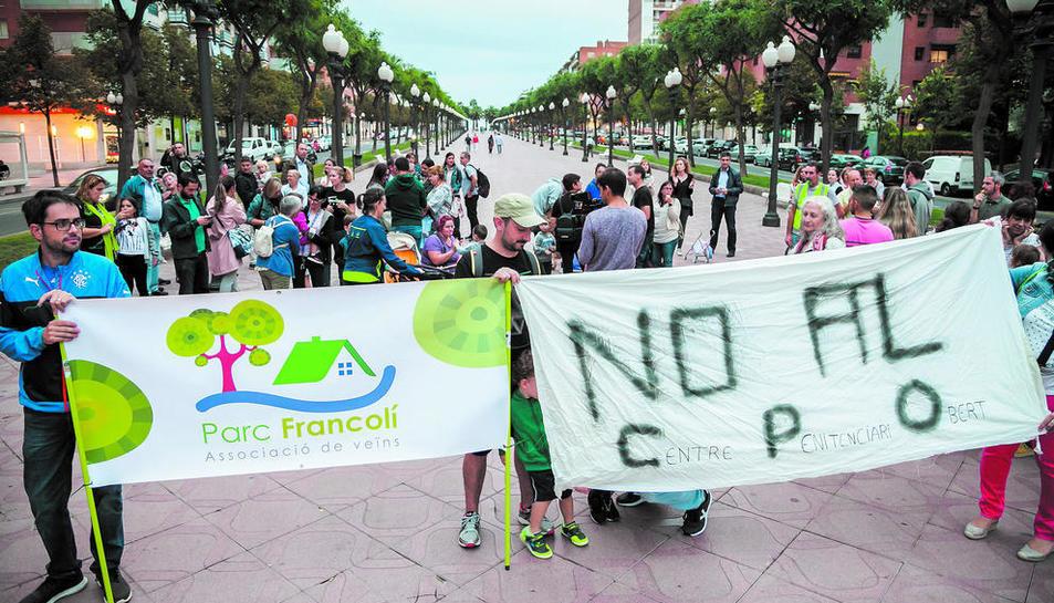 El passat 10 d'octubre els veïns del Parc del Francolí van iniciar mobilitzacions per exigir la paralització del CPO.