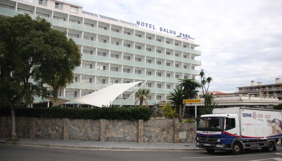 Pla general de l'hotel Salou Park, de Salou. Foto del 7 de novembre del 2019 (Horitzontal).