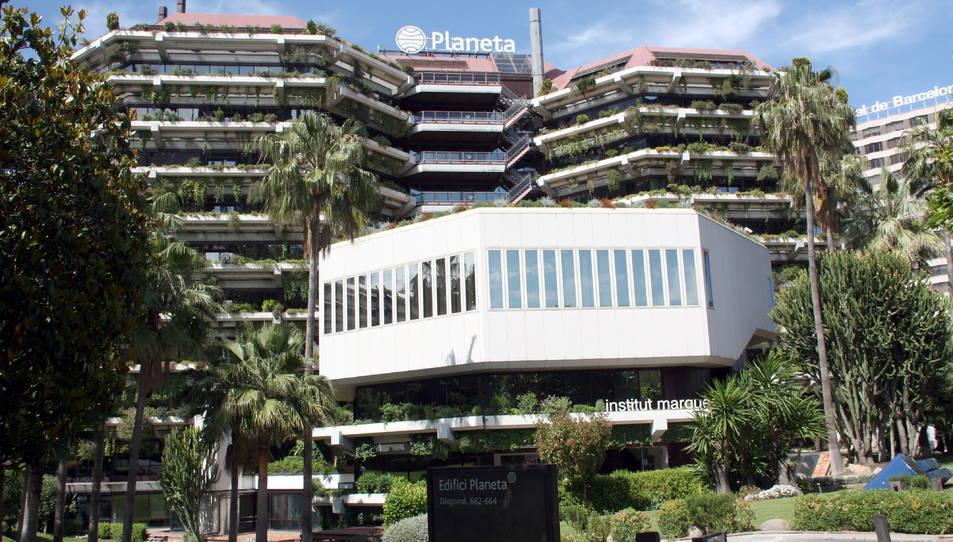 Imatge de la seu de Planeta a Barcelona