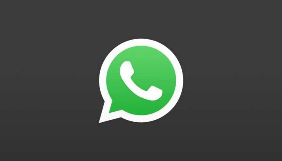 El mode fosc de WhatsApp