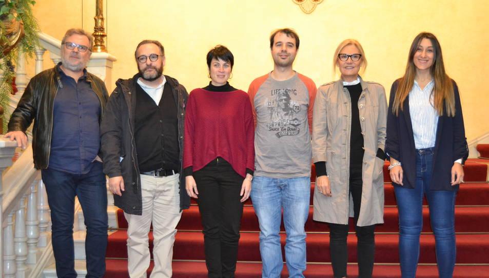 Imatge de l'acte de presentació del concert