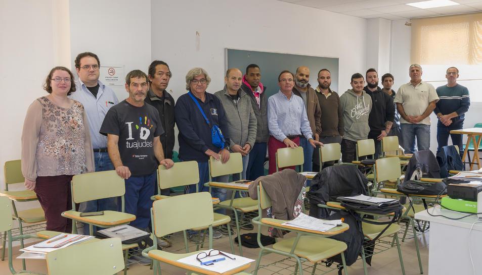 Fotografia dels participants dels cursos.
