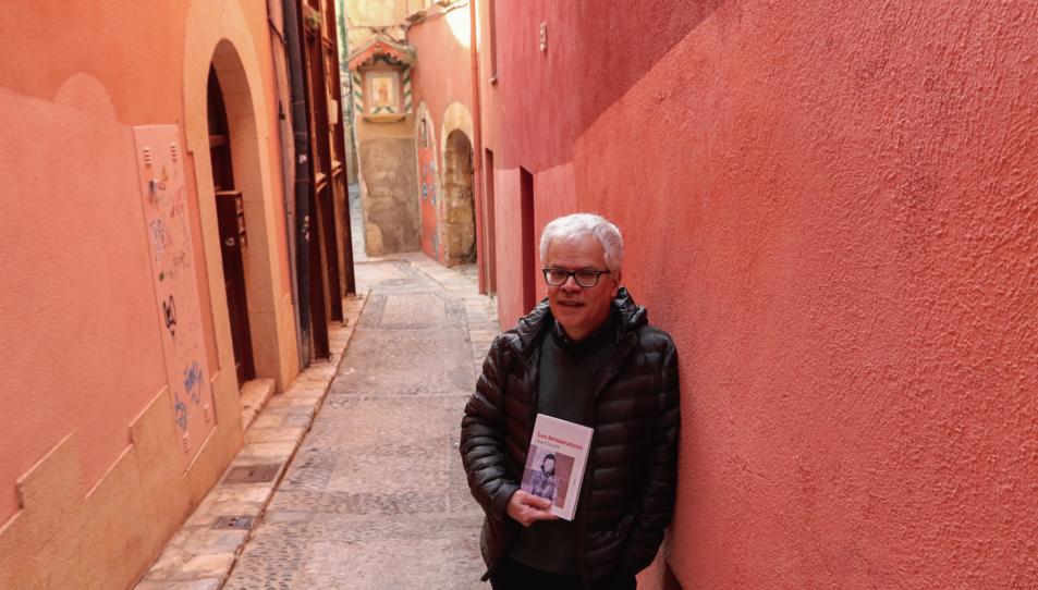 Joan Cavallé, aquest dilluns, al carrer de les Moles de Tarragona.